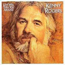 KENNY ROGERS Love Will Turn You Around FR Press LP