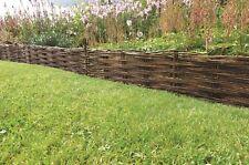 Natural Willow Hurdle / garden Border Edging
