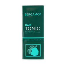 Bergamot Hair Tonic Treatment Reduce Loss Hair Dandruff Itchy Dry Scalp 200 ml