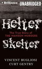 HELTER SKELTER The Manson Murders unabridged audio MP3 CD by VINCENT BUGLIOSI