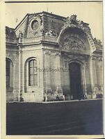 Francia Davanti Un Château Foto Amateur Vintage Analogica Ca 1900