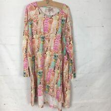 Paper Wings Dress Organic Cotton Sz 12 Swing Style EUC (tub M)