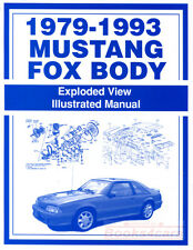 MUSTANG PARTS MANUAL BOOK FORD SPARE FOX