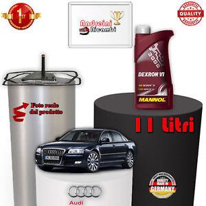 TAGLIANDO  CAMBIO AUTOMATICO E OLIO AUDI A8 II S8 331KW DAL 2009 -> 2010 1085