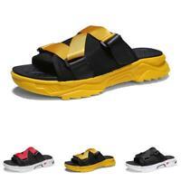 Mens Open Toe Walking Sports Flats Non-slip 48 Beach Slingbacks Slippers Shoes D