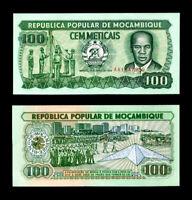 MOZAMBIQUE 100 METICAIS 1989 P 130 UNC LOT 10 PCS
