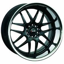 20X9 XXR 526 5x114.3/120 +13 Black/Silver Stainless Chrome Lip Wheels (Set 4)