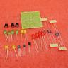 DIY Kit Circular Lamp Suite 12PCS LED Electronic Production Red Green Yellow
