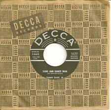 SAMMY DAVIS, JR. 45  Song And Dance Man / I Ain't Gonna Change - NM