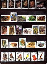 EP 534 TANZANIE 28 T: chauve-souris,animaux,reptiles,sports et sujets divers