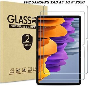 2x Tempered Glass Screen Protector For Samsung Galaxy Tab A7 10.4 T500/T505 2020