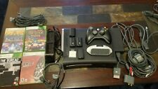 Microsoft Xbox 360 Elite Launch Edition 120GB Matte Black Console (NTSC)