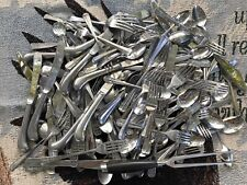 New listing 12 Pound Lot Of Flatware Stainless Rare Patterns