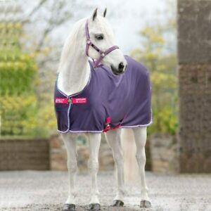 "Horseware Amigo Pony Jersey Cooler, Grape/Pink - UK 5'3"""