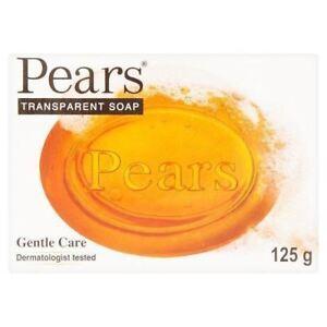 Poires soins doux de savon transparent 125g