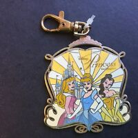 WDW Lanyard Medal Princess Pin Trading Belle Aurora Cinderella Disney Pin 54158