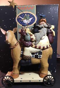 Williraye Studios 2002 - WW2415 Christmas Star Pulltoy NOS Rare