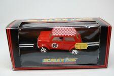 SCALEXTRIC VINTAGE C150 MINI COOPER ...RED....ORIGINAL BOX