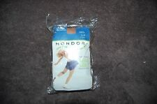 Mondor 3372 Ice Skating Boot Cover Tights Heavy Weight Suntan Size L ADULT BNIP