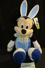 "Mickey Mouse Toys R Us exclusive Easter outfit Bunny ears 15"" plush"
