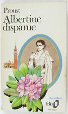 À la recherche du temps perdu VII, Albertrine disparue Marcel Proust 1986