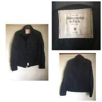 Abercrombie&Fitch Mens Navy Blue Cotton Long Sleeve Shirt M (A993)