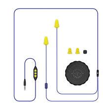 Plugfones Guardian Plus, Earplugs with Audio, Earplug Headphones, 26 dB NRR