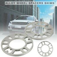 1X 5mm Aluminum ET Adjusting Shims Car Wheel Spacers Wheelbase Gasket Flange ME
