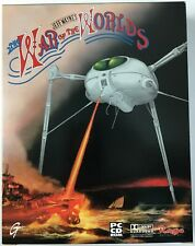 Jeff Wayne's The War Of The Worlds 1998 Rage PC 2 Disc CD-Rom Big Box Game - New