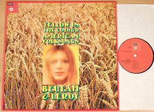 Beulah & Leroy-Yellow is the colour/American Folk canzoni (BASF, D/LP VG + +)