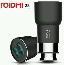 XIAOMI ROIDMI 2S Allume-cigare 5V 2.4A/20W LED Music FM Émetteur International