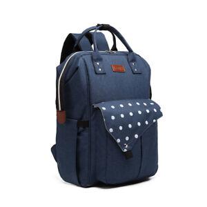 Unisex Travel Large Backpack Maternity Shoulder Bag with USB Rucksack