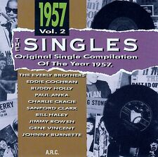 THE SINGLES - ORIGINAL SINGLE COMPILATION OF THE YEAR 1957 VOL. 2 / CD