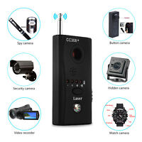 Anti Spy Hidden Camera Lens Bug Detector GSM GPS Signal Finder RF Tracker Audio