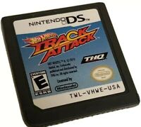 Hot Wheels Track Attack Nintendo DS Game Card Cartridge Only THQ No Instructions