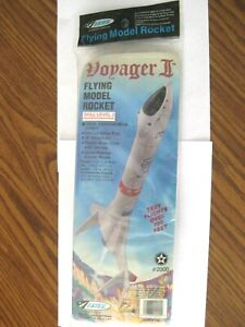 OOP Estes Voyager II Flying Model Rocket Kit #2000. New in unopened package.