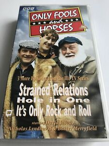 Only Fools And Horses - Strained Relations VHS VIDEO