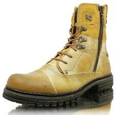 Yellow Cab Creak M Y18072 Herren Boots Stiefel Herbst Winter Leder Schuhe Braun