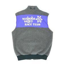 "VTG Nashoba Valley Race Team Adult Large 43"" Zip Fleece Vest Ski Snow Hurricane"