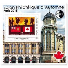 """Bloc C.N.E.P. N°69, """"Salon philatélique d'Automne 2015"""", autoadhésif."""
