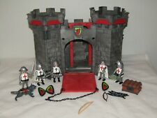Castle Playmobil with Figures and Wolf