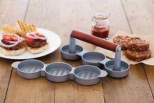 Kitchen Craft Home Made Mini Burger/Sliders Press, Home Made Mini Burger Press