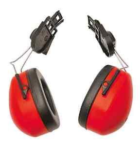 PORTWEST CLIP ON EAR MUFF PROTECTOR HARD HAT MOUNTING EAR MUFF NRR 24db