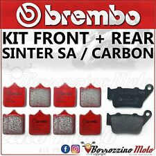 BRAKE PADS KIT BREMBO SINTER ROAD SA FRONT + REAR BMW S 1000 RR 2014 2015