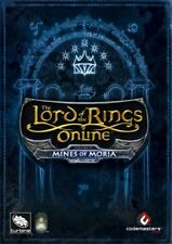 LORD OF THE RINGS ONLINE - MINES OF MORIA (PC CD DVD ROM) NEW SEALED ~