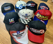 New ListingVintage Nascar Racing Snapback Hat Lot Dale Earnhardt Strapback Vtg 90s Y2K