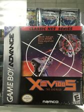 Xevious Classic NES Series Nintendo GameBoy Advance Original Factory Sealed
