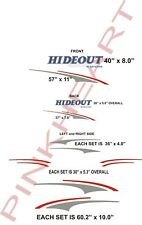 hideout Rv decal kit travel trailer graphics keystone outback stickers camper