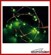 Hellum Lichterkette LED 20-tlg. Weihnachten Baum Deko Fest grün
