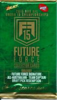 2015 afl select future force 5x single sealed packets-in stock